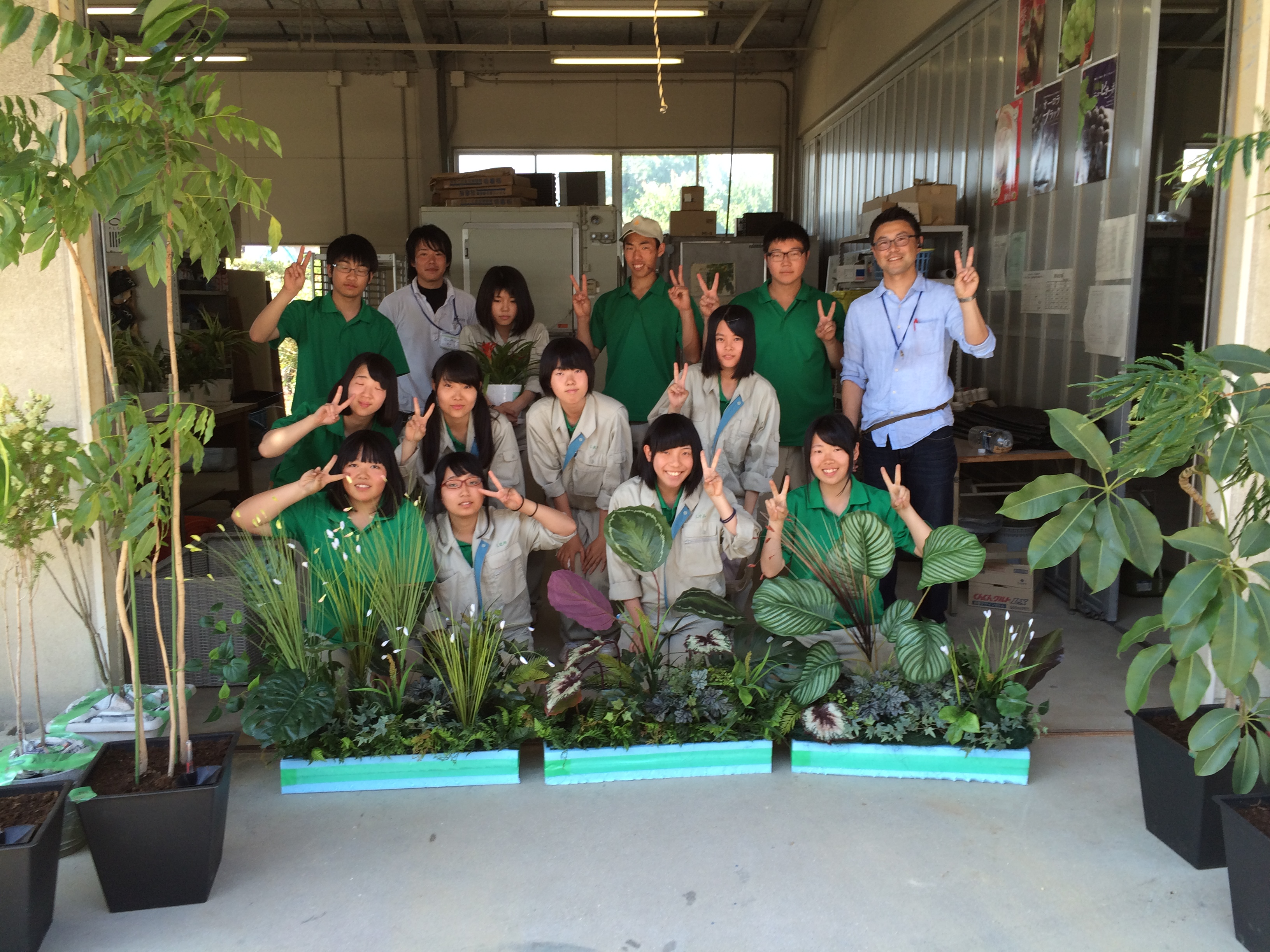 岡山県立興陽高等学校 課外授業5