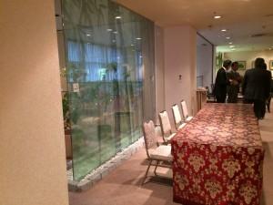 岡山ロイヤルホテル様 喫煙ルームリニューアル施工前5