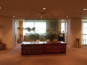 岡山ロイヤルホテル様 喫煙ルーム