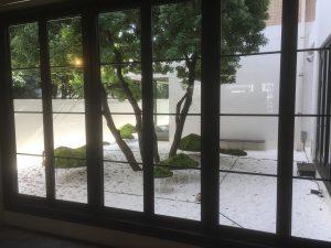 アンテルーム京都 中庭